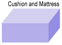 mattress or cushion