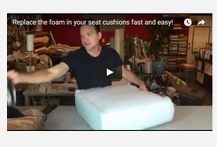 upholstery foam sheet